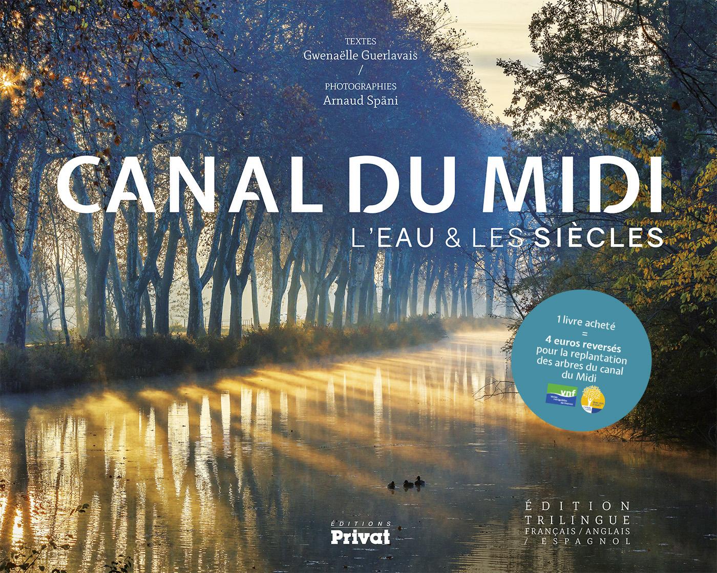 Après un an de reportage sur le terrain le long des 240 km du Canal du Midi (d'Agde à Toulouse), je terminais mon 3e ouvrage consacré au chef d'oeuvre de Pierre-Paul Riquet.