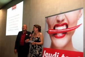2012 – Lancement du titre Jeudi tout. Une aventure éphémère mais réjouissante!